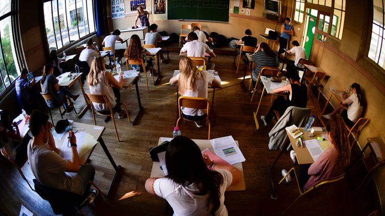 Classe de terminale dans un lycée parisien. (MARTIN BUREAU / AFP)