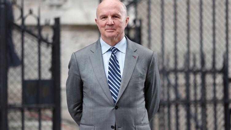 Le général Jean-Louis Georgelin. (ZAKARIA ABDELKAFI / AFP)