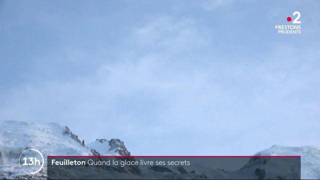 Réchauffement climatique : le Glacier des Bossons dévoile des lieux inexplorés