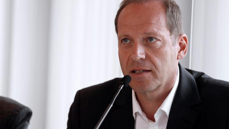 Christian Prudhomme, le patron du Tour de France (THOMAS SAMSON / AFP)