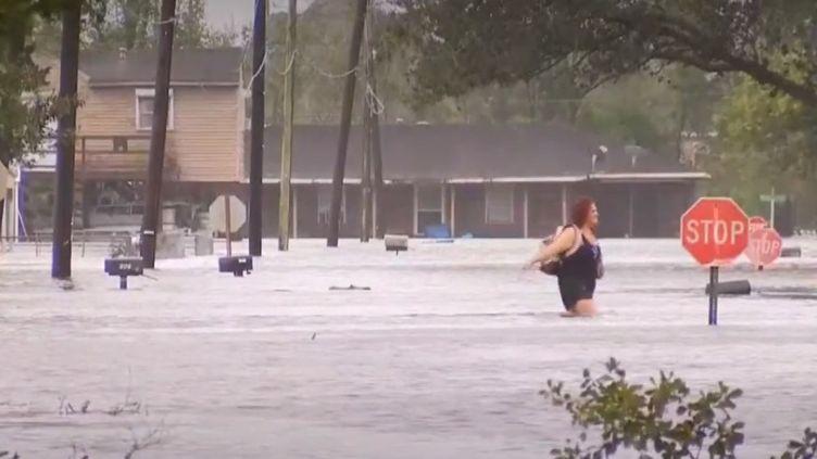 Ouragan Laura. (FRANCEINFO)