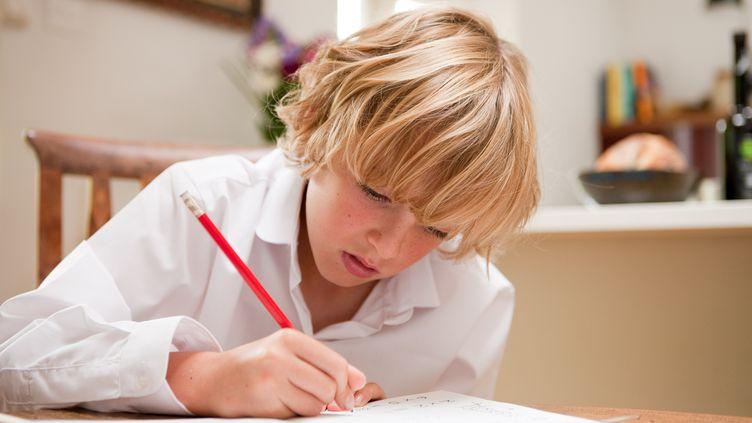 La Fédération des conseils de parents d'élèves (FCPE) a lancé le 26 mars 2012 la Quinzaine sans devoirs. (DAN PANGBOURNE / IMAGE SOURCE / AFP)