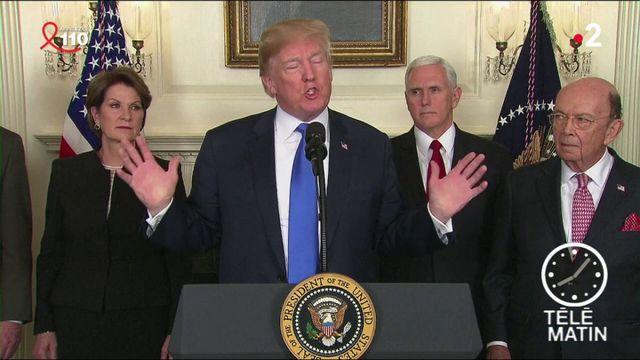 États-Unis : Donald Trump engage des mesures commerciales dures contre la Chine