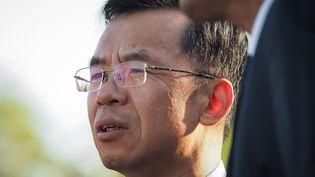 Lu Shaye, amabassadeur de Chine en France, en août 2019. (GUILLAUME SOUVANT / AFP)