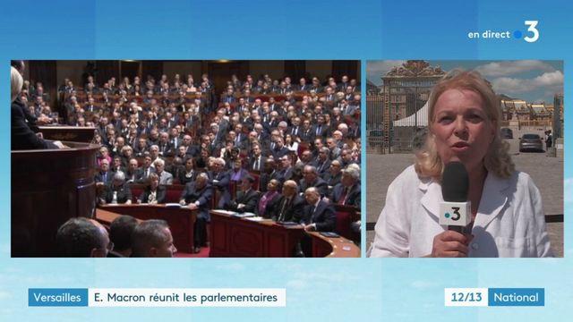 Versailles : E. Macron réunit les parlementaires