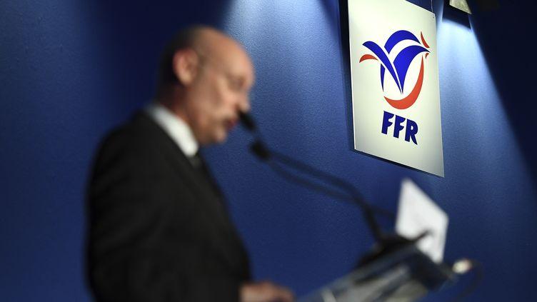 Bernard Laporte, le nouveau président de la FFR (FRANCK FIFE / AFP)