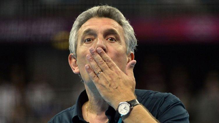 Claude Onesta montre la voie (CHRISTOPHE SIMON / AFP)