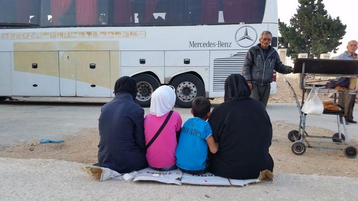 Depuis la gare routière d'Alep, la plupart des grandes villes syriennes sont desservies. (VALÉRIE CROVA / RADIO FRANCE)
