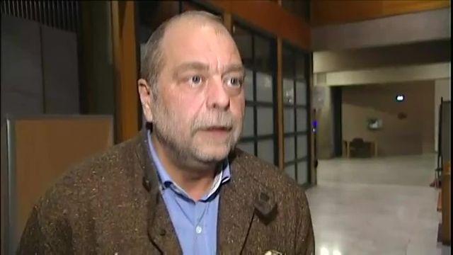 Me Eric Dupond-Moretti, avocat de Bruno Odos, devant la caméra de France 2