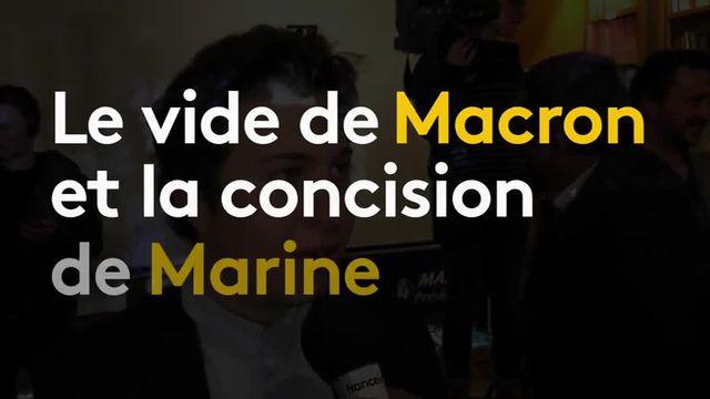 Débat de l'entre-deux-tours : les militants de Front national saluent la performance de Marine Le Pen
