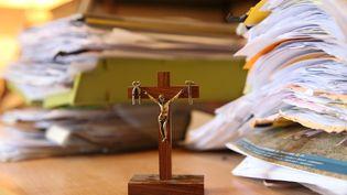 Une croix religieuse. (VANESSA MEYER / MAXPPP)