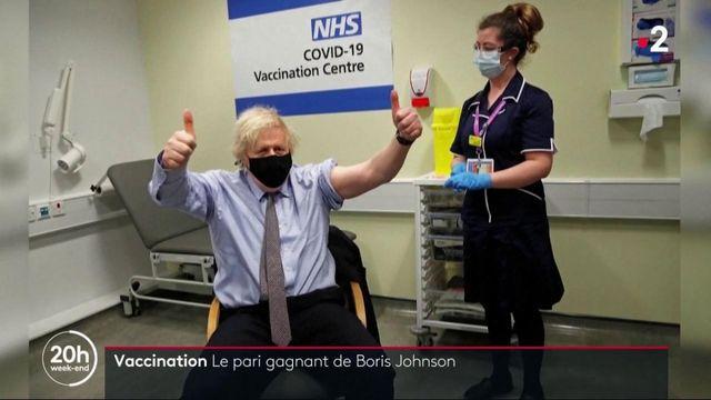 Vaccination contre le Covid-19 : le pari gagnant de Boris Johnson