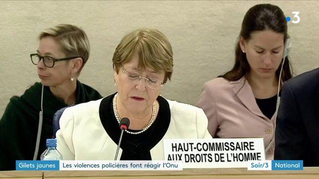"""""""Gilets jaunes"""" : les violences policières font réagir l'ONU"""