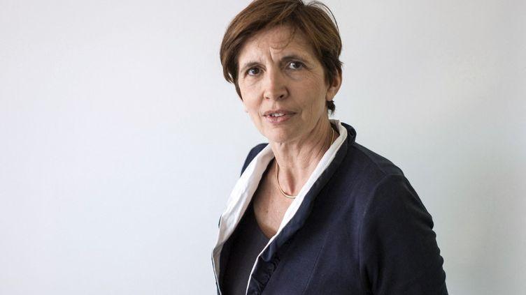 Michèle Leridon, à Paris, le 23 juin 2014. (FRED DUFOUR / AFP)