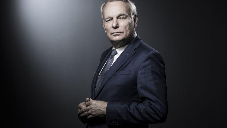 L'ancien Premier ministre Jean-Marc Ayrault à Paris, le 18 avril 2018. (JOEL SAGET / AFP)