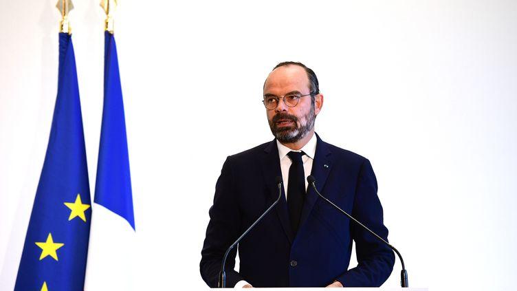 Edouard Philippe, le 20 novembre 2019, à Paris. (MARTIN BUREAU / AFP)