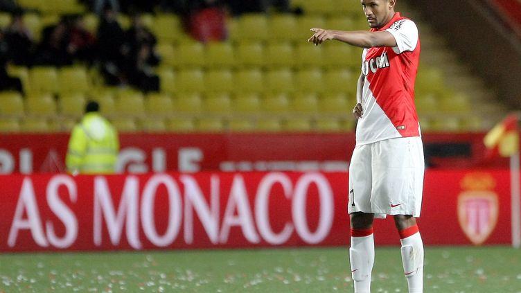 Wallace, le défenseur brésilien de l'AS Monaco, prêté par Braga. (CYRIL DODERGNY / MAXPPP)