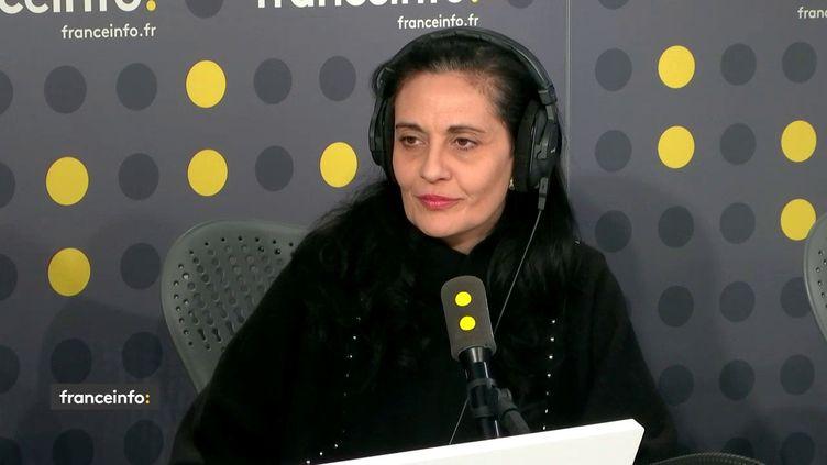 Olivia Cattan, présidente de SOS autisme France, ci-contre le 1er avril 2019. (FRANCEINFO / RADIOFRANCE)