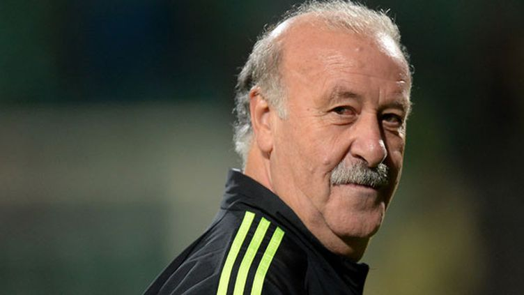 Le sélectionneur de l'équipe d'Espagne, Vicente Del Bosque, quitte ses fonctions