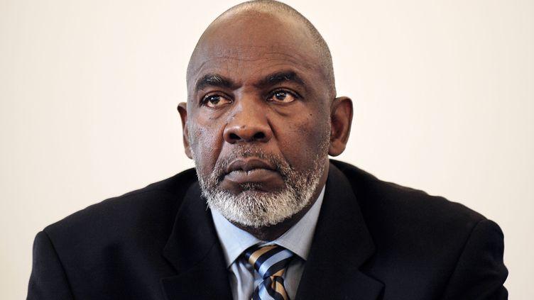 L'astrophysicien et nouveau Premier ministre malien, Cheick Modibo Diarra le 13 octobre 2004. (MAXIMILIEN LAMY / AFP)