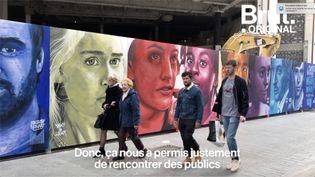 Les membres du collectif lillois Renart modernisent l'environnement urbain au cœur de leur ville. (BRUT)
