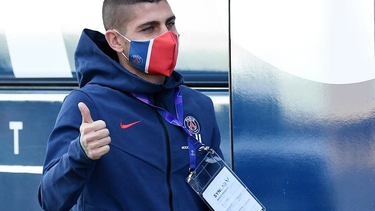 Sans Verratti, le PSG a réussi à se frayer un chemin vers la finale. (FRANCK FIFE / AFP)