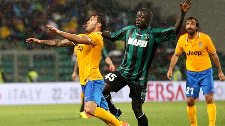La Juventus et Carlos Tevez ont évité le piège face à Sassuolo (SERENA CAMPANINI / MAXPPP)