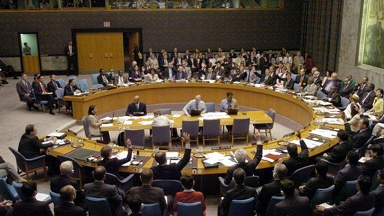 Réunion du Conseil de sécurité de l'ONU (archives). (AFP/Stan HONDA)