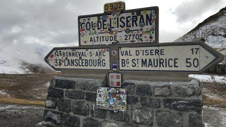 Le col de l'Iseran est au programme du Tour de France 2019. (FABRICE RIGOBERT / FRANCEINFO)