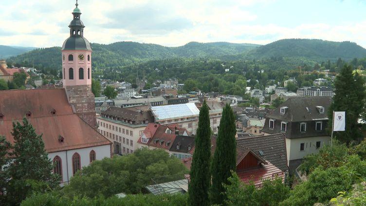 La ville de Baden-Baden. (FRANCEINFO)