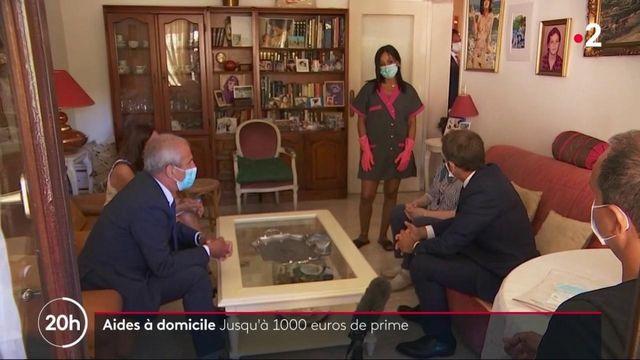 Covid-19 : jusqu'à 1 000 euros de prime pour les aides à domicile