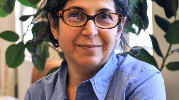 La chercheuse franco-iranienne Fariba Adelkhah, en 2012. (THOMAS ARRIVE / SCIENCES PO / AFP)