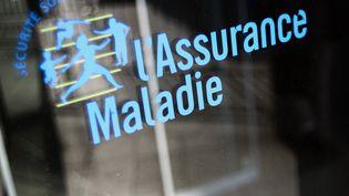 Le logo de la Sécurité sociale, à Paris, le 23 octobre 2012. (FRED DUFOUR / AFP)