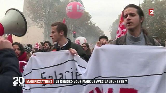 Manifestations : la jeunesse absente des cortèges ?