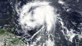 L'ouragan Maria s'approchant des Caraïbes, dimanche 17 septembre 2017. (NASA NASA / REUTERS)
