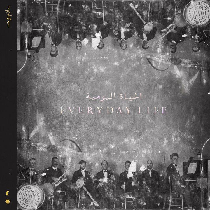 """Le visuel de la pochette de """"Everyday Life"""", le huitième album de Coldplay. (WARNER)"""
