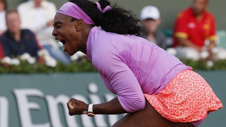 La rage de Serena Williams (PATRICK KOVARIK / AFP)