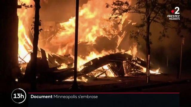 États-Unis : la ville de Minneapolis secouée par de violentes émeutes