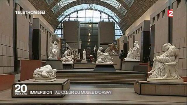 Immersion au coeur du musée d'Orsay