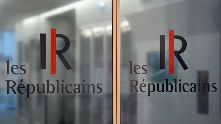 Quatre candidats, Laurent Wauquiez, Maël de Calan, Florence Portelli et Danielle Fasquelle, sont en lice pour la présidence du parti Les Républicains. (BERTRAND GUAY / AFP)
