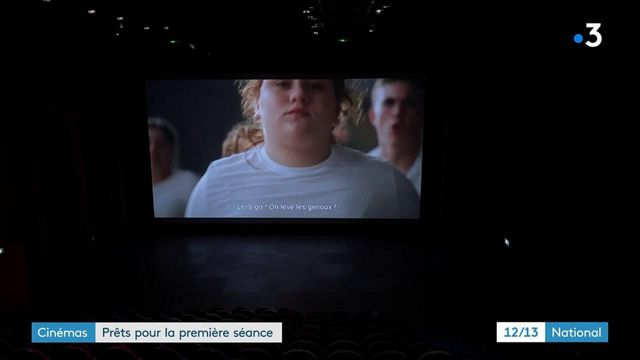 Cinéma :l'heure des derniers préparatifs avant la réouverture