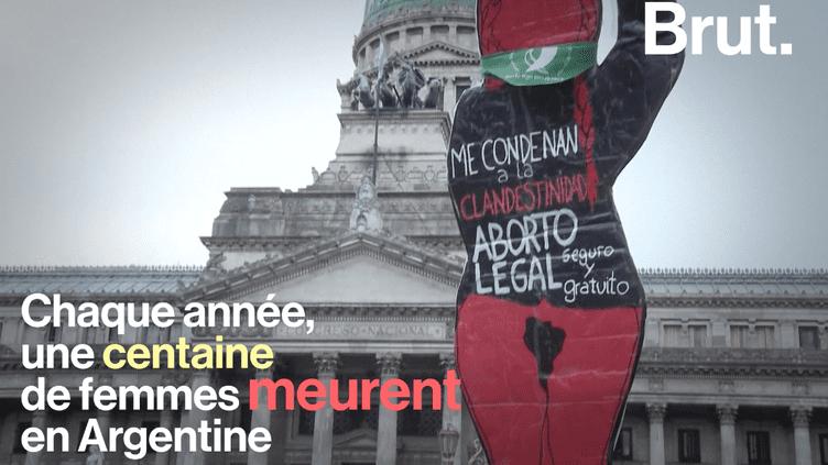 En Argentine, le débat sur la légalisation de l'avortement doit s'ouvrir (BRUT)