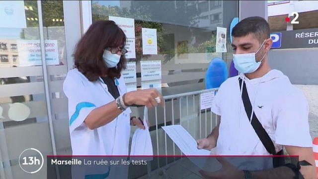 Marseille : la ruée vers les tests PCR