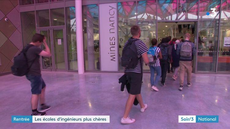 L'école des Mines de Nancy (France 3)