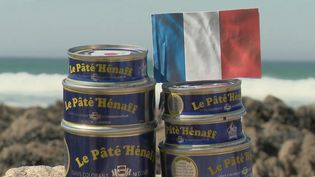 Le pâté de porc Hénaff estune institution de la gastronomie française. (CAPTURE ECRAN FRANCE 2)