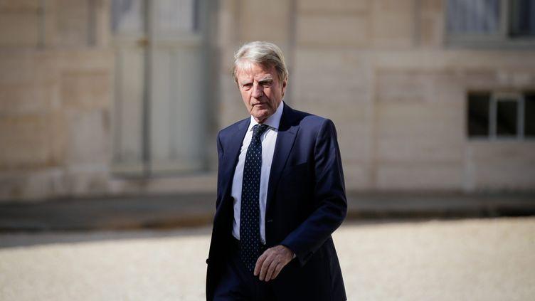 Bernard Kouchner, au palais de l'Elysée à Paris le 21 août 2009. (MAXPPP)