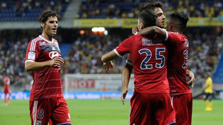 Les Lyonnais seront-ils à la fête en Ligue Europa ?  (SEBASTIEN BOZON / AFP)