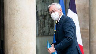 Le ministre de l'Economie et des Finances, Bruno Le Maire, le 19 octobre 2020,au palais del'Elysée. (XOS? BOUZAS / HANS LUCAS / AFP)