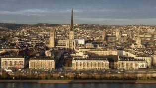 Vue de la ville de Rouen (Seine-Maritime). (MAXPPP)