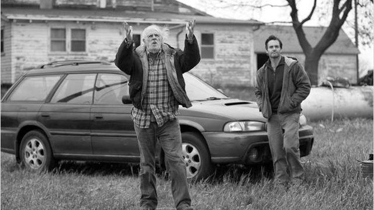 """Bruce Dern et WIll Forte dans """"Nebraska"""" d'Alexander Payne  (Bona Fide Productions)"""